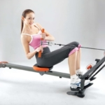 body sculpture rudergerät TEST BR3010 Rower & Gym -